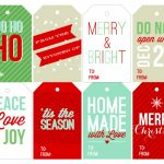 40 Unique Printable Christmas Gift Tags | Kittybabylove   Free Printable Gift Name Tags