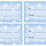 40 Unique Printable Christmas Gift Tags | Kittybabylove   Free Printable Gift Tags Templates