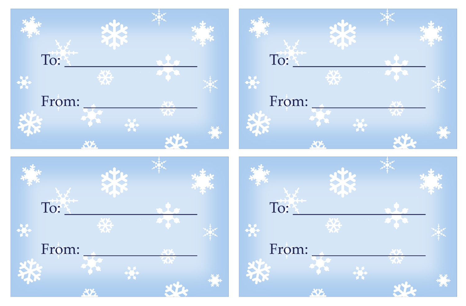 40 Unique Printable Christmas Gift Tags | Kittybabylove - Free Printable Gift Tags Templates
