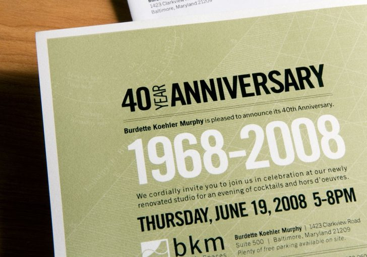 Free Printable 40Th Anniversary Invitations
