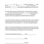 45 Free Promissory Note Templates & Forms [Word & Pdf]   Template Lab   Free Promissory Note Printable Form