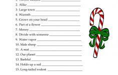 5 Images Of Free Printable Christmas Word Games | Printablee – Free Printable Picture Dictionary For Kids