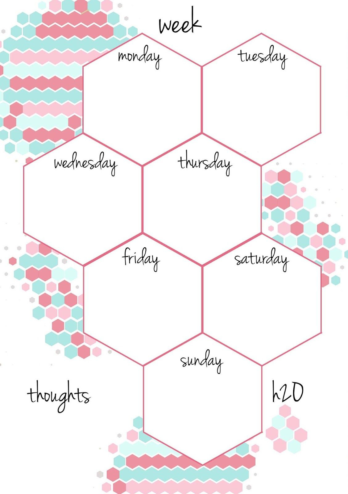 50+ 2017 Free Printable Calendars | Organizing My Home | Pinterest - Free Printable Organizer 2017