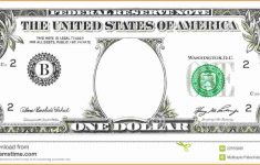 Free Printable Dollar Bill Template