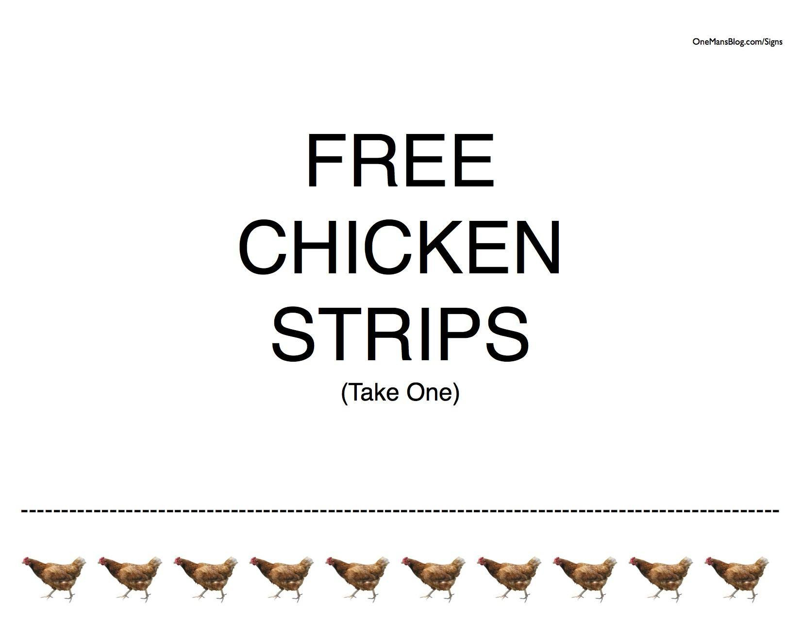 50+ Free Funny Signs (To Print Out And Post!) - Free Printable Funny Signs