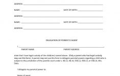 Free Printable Power Of Attorney