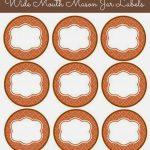 56 Cute Mason Jar Labels | Kittybabylove   Free Printable Jar Label Templates