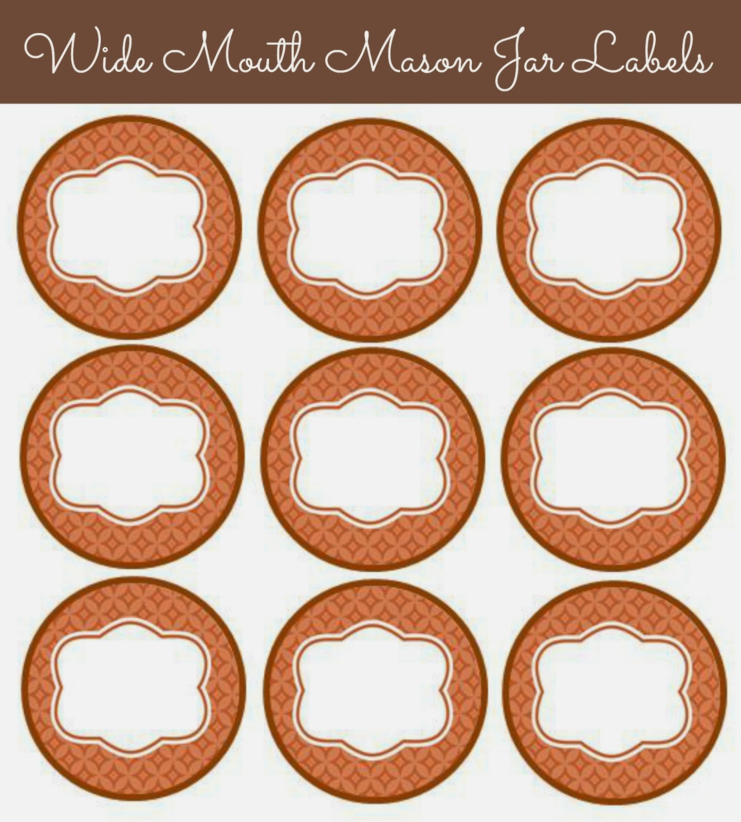 56 Cute Mason Jar Labels | Kittybabylove - Free Printable Mason Jar Labels Template