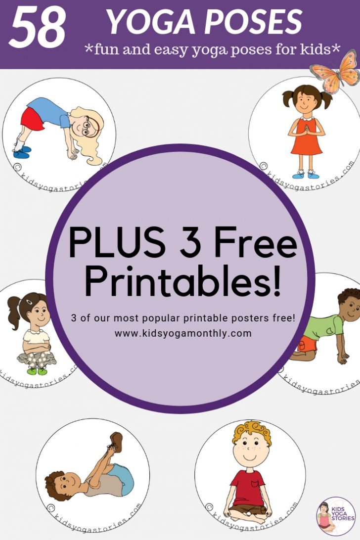 Free Printable Yoga Poses