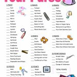 6 Must Have Baby Shower Games   Free Printable Baby Shower Games   Free Printable Baby Shower Game What's In Your Purse