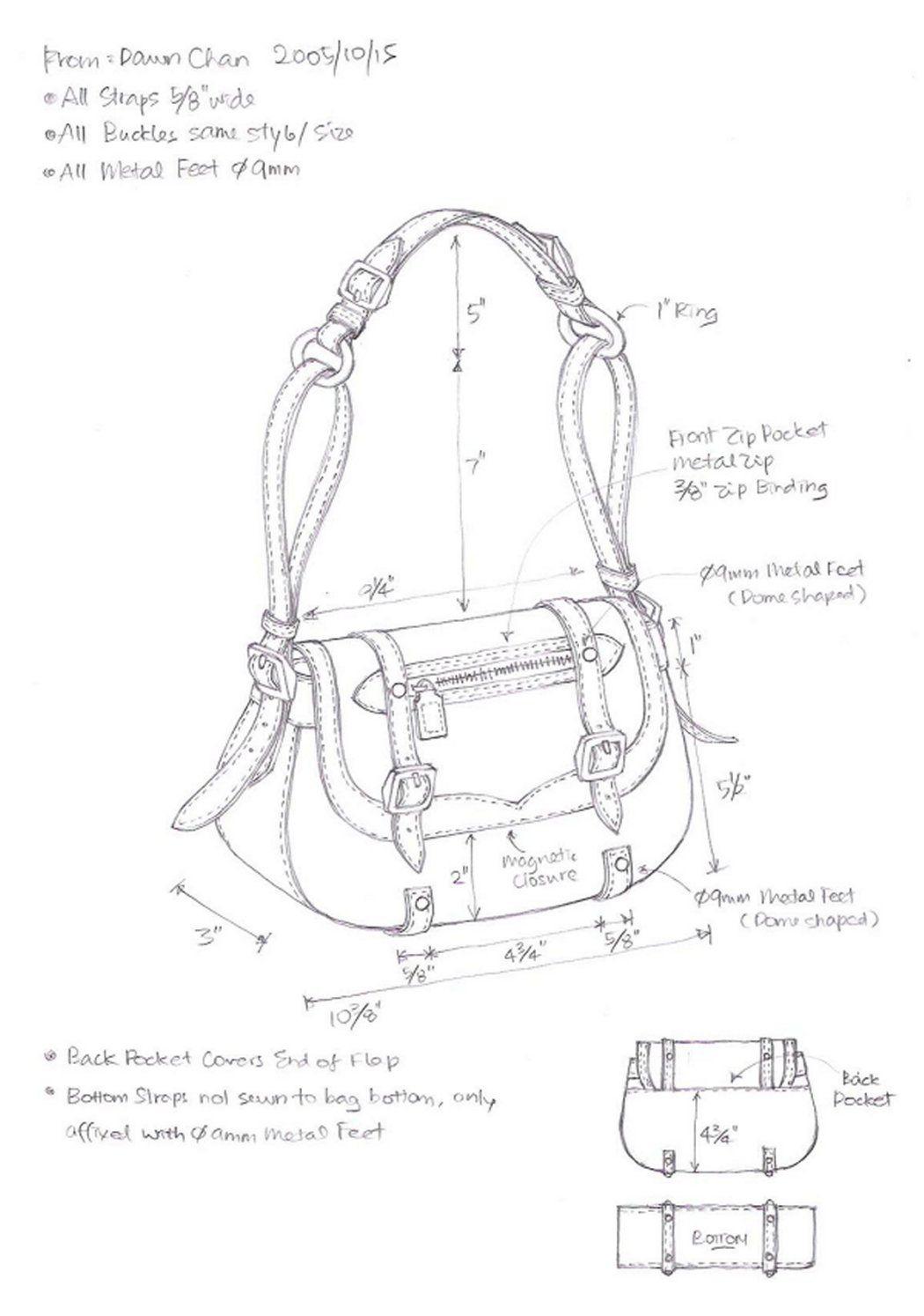 7 Best Images Of Leather Handbag Patterns Printable - Free Leather - Handbag Patterns Free Printable