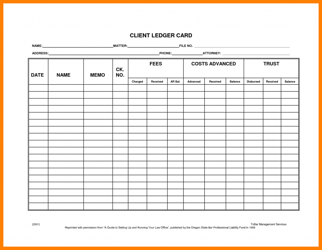 7+ Free Printable Accounting Ledger Sheets | Ledger Review - Free Printable Ledger Sheets