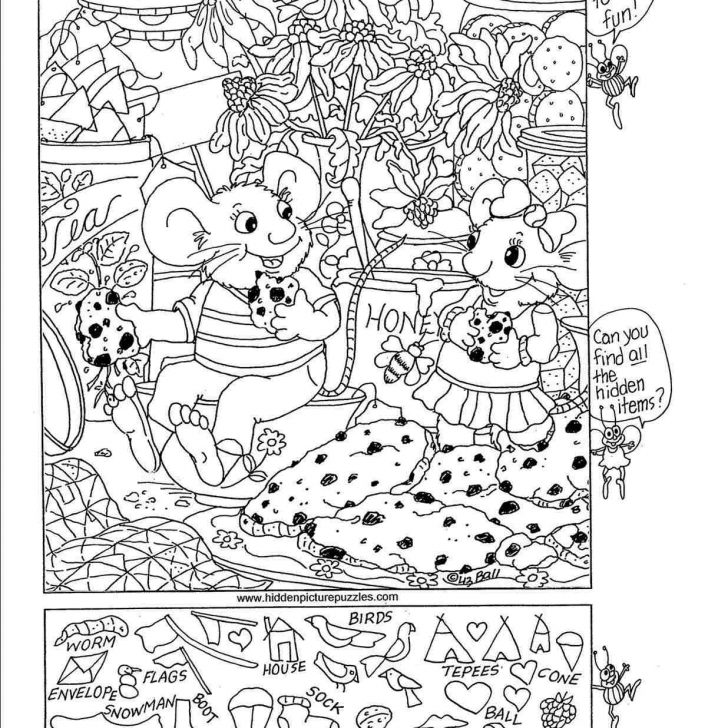 Free Printable Hidden Object Games