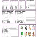 78984 Free Esl, Efl Worksheets Madeteachers For Teachers   Free Printable English Lessons For Beginners