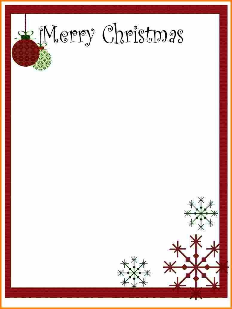 8+ Christmas Letter Templates Free Printable | Ledger Page | Xmas - Free Printable Christmas Letters