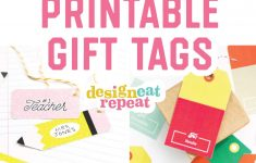 8 Colorful & Free Printable Gift Tags For Any Occasion! – Free Printable Birthday Tags