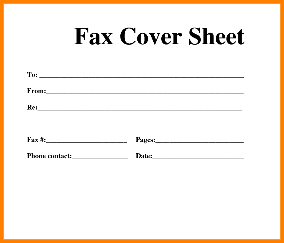 8+ Free Fax Cover Sheet Printable Pdf | Ledger Review - Free Printable Cover Letter For Fax