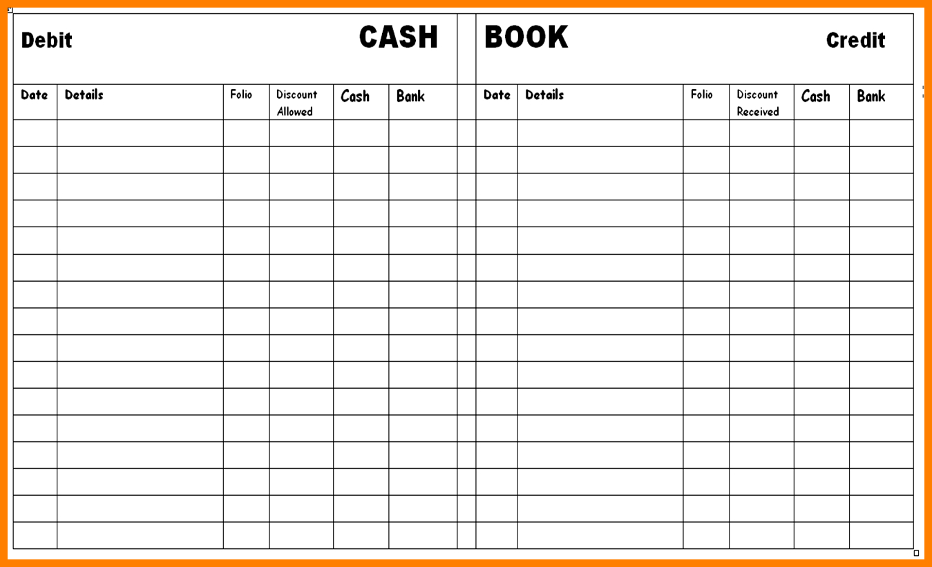 8+ Free Printable Accounting Ledger | Ledger Review - Free Printable Accounting Ledger