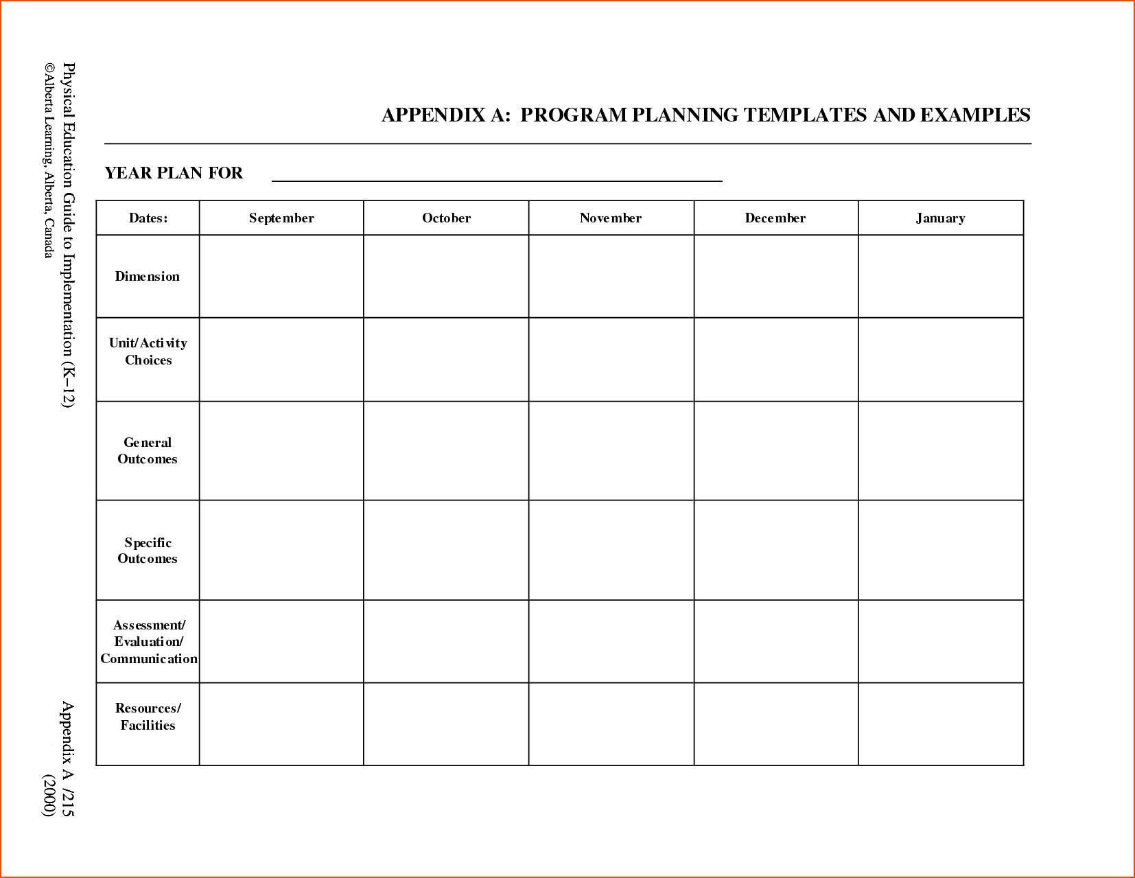 8+ Free Printable Lesson Plan Template - Bookletemplate - Free Printable Blank Lesson Plan Pages