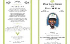 Free Printable Obituary