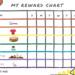 8 Of The Best Free Printable Kids Chore Charts ~ The Organizer Uk   Free Printable Reward Charts For Teenagers