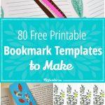 80 Free Amazing Bookmarks To Make {Free Printables} – Tip Junkie   Free Printable Bookmarks Templates