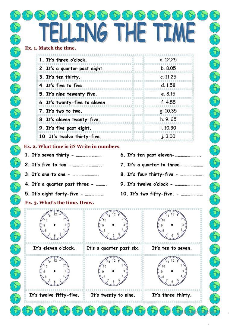 845 Free Esl Numbers Worksheets - Free Printable Esl Resources