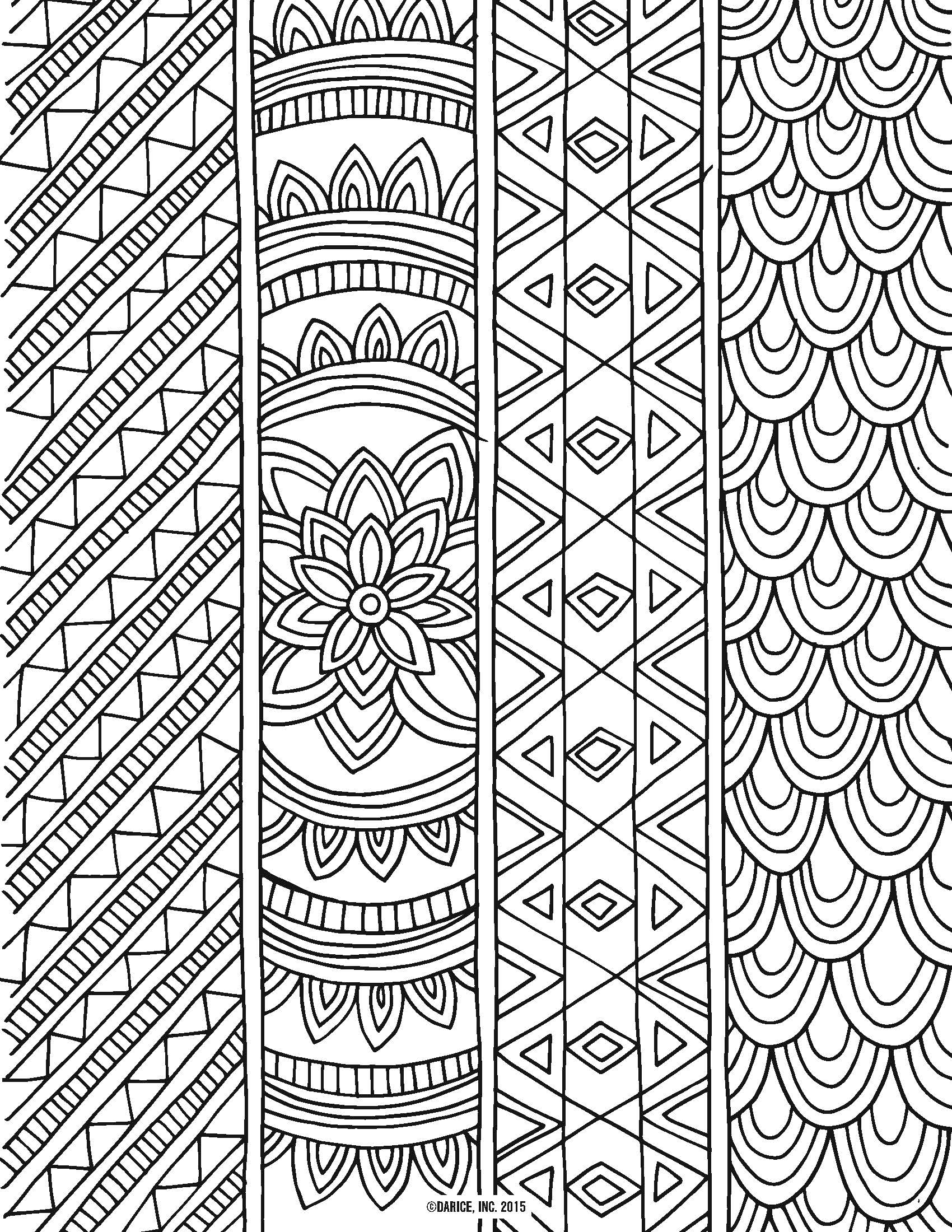 9 Free Printable Adult Coloring Pages | Pat Catan's Blog - Free Printable Coloring Books For Adults