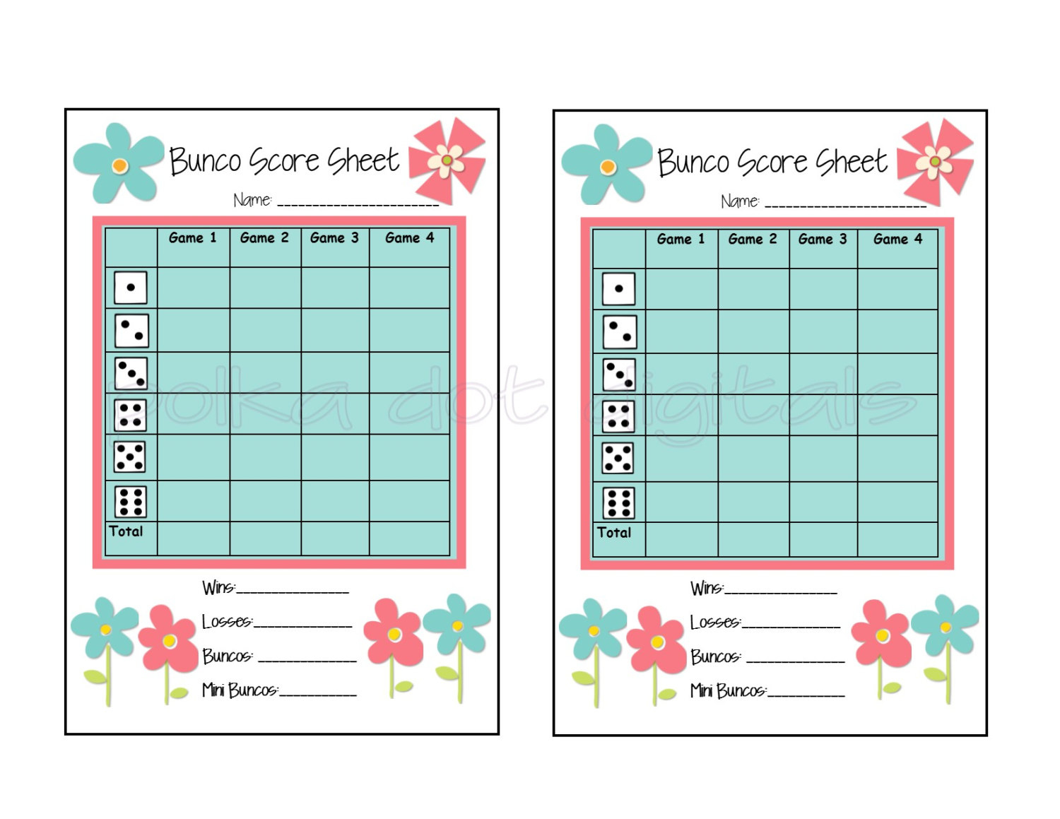 98+ This Is The Bunco Score Sheet Download Page You Can Free - Free Printable Bunco Game Sheets