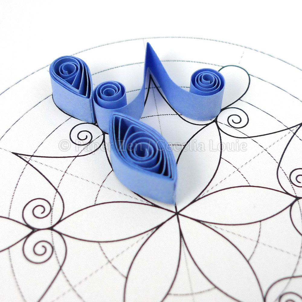 A Blog About Paper Printables, Quilling, And Die Cutting. | Quilling - Free Printable Quilling Patterns