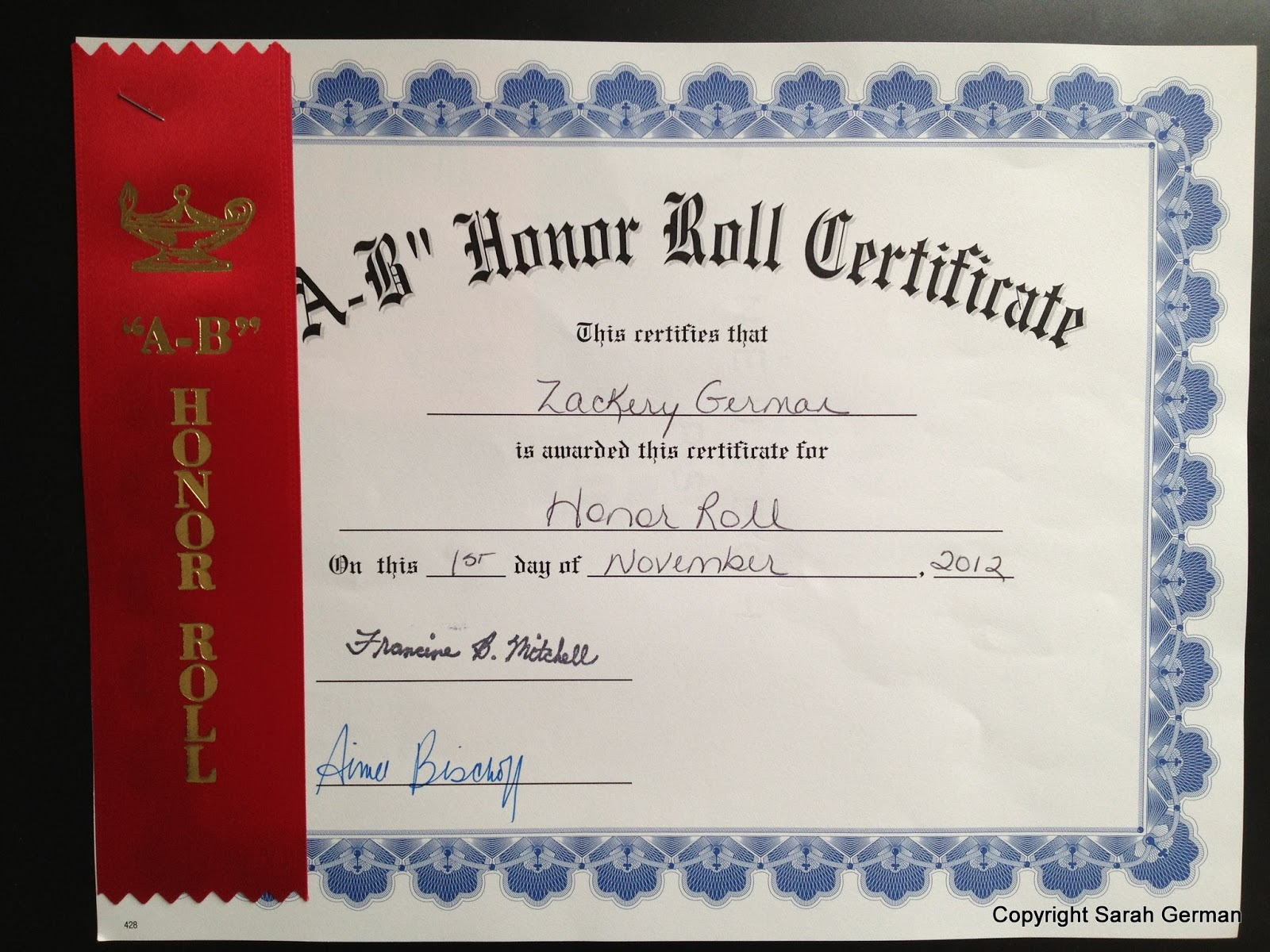 A Brit In America: Honor Roll & Terrific Kids Awards Ceremony - Free Printable Honor Roll Certificates Kids