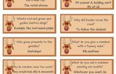 A List Maker's Life: Reindeer Riddles: Free Printable | Christmas - Free Printable Christmas Riddle Games
