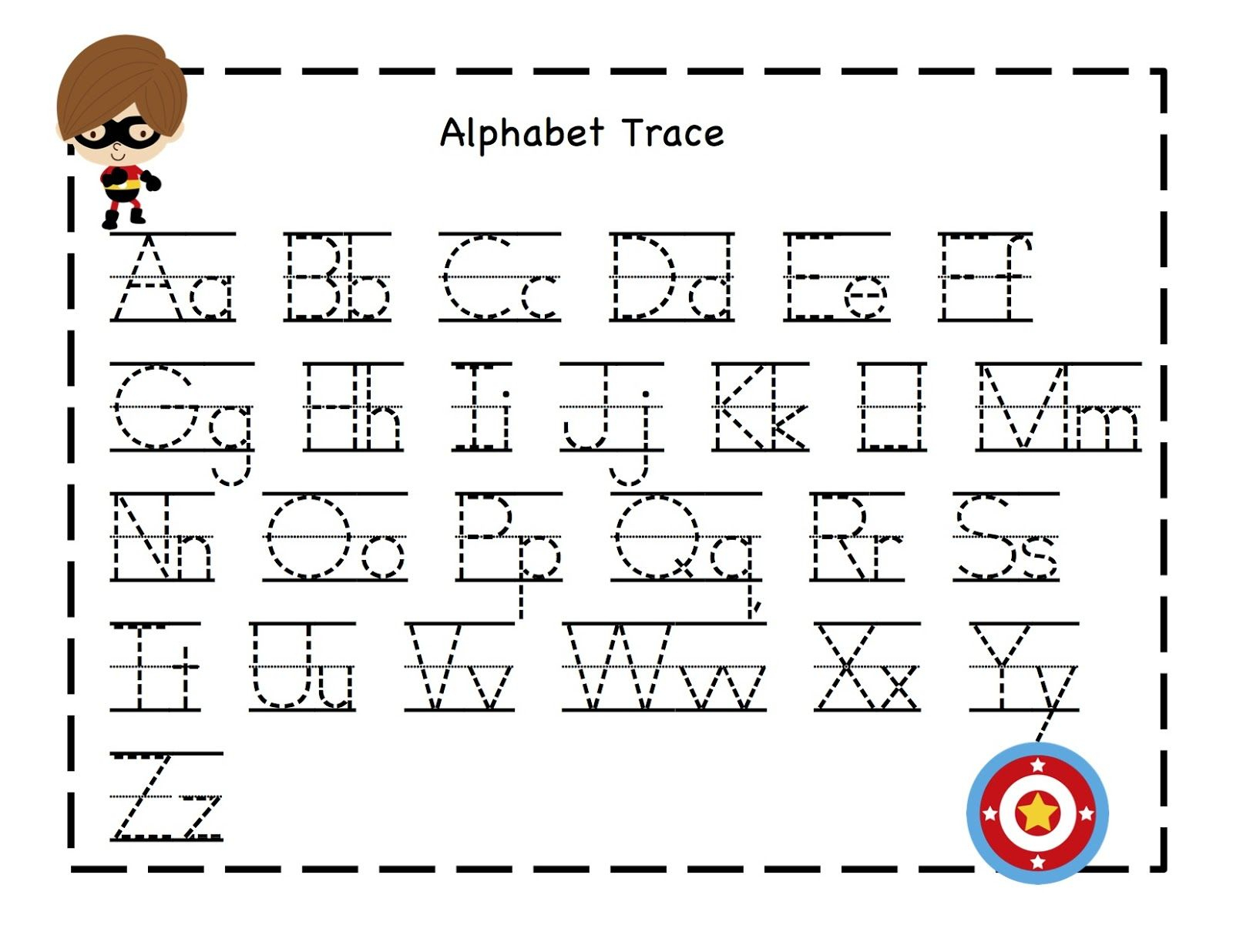 Abc Tracing Sheets For Preschool Kids | Kiddo Shelter | Kids - Free Printable Letter Tracing Sheets