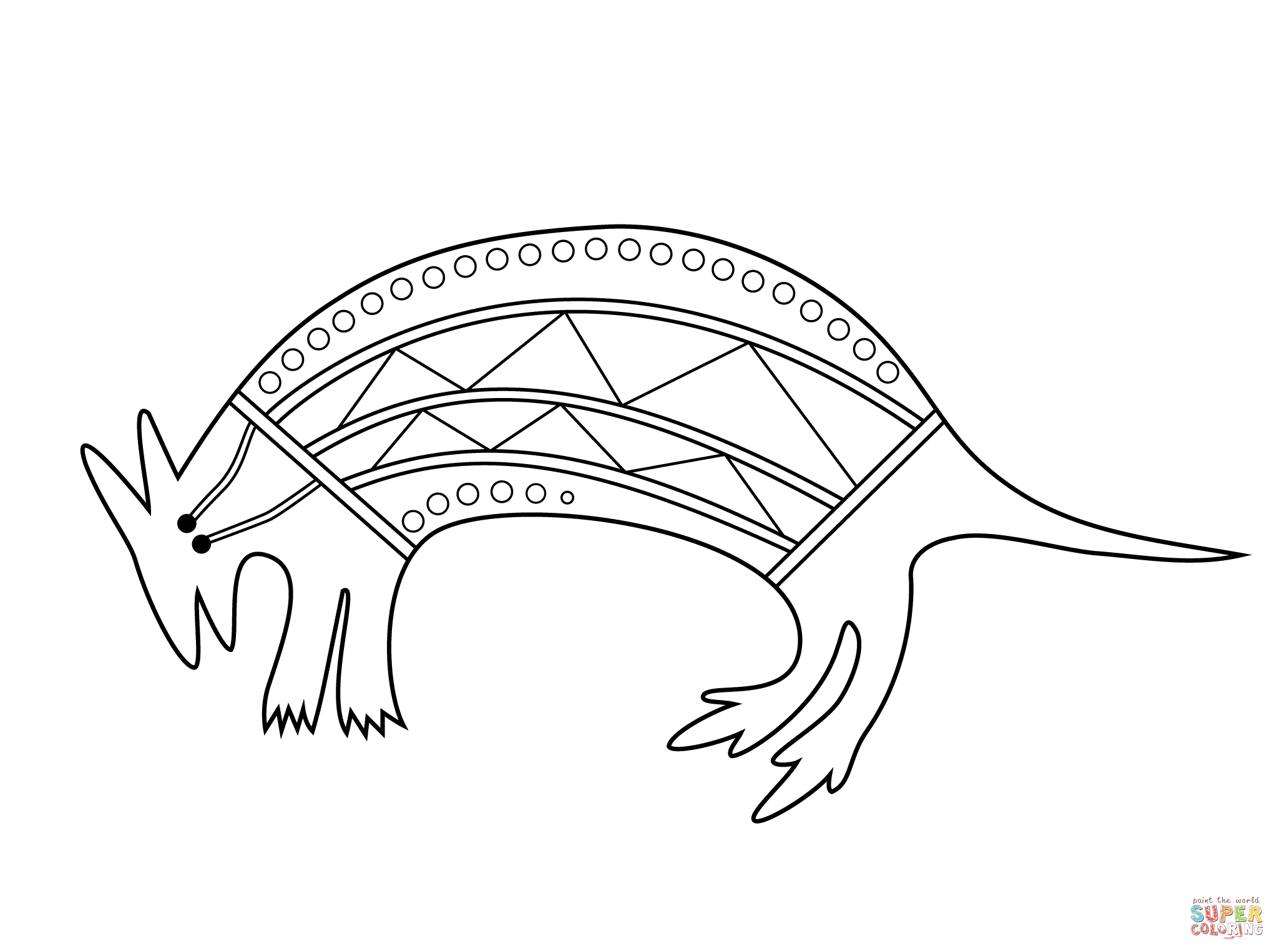 Aboriginal Art Coloring Pages | Free Coloring Pages - Free Printable Aboriginal Colouring Pages