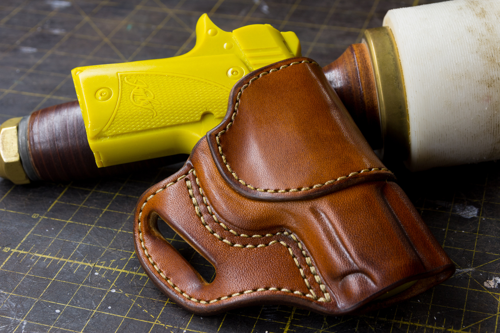Adams Leatherworks | Avenger Holster Pattern - Free Printable Holster Patterns