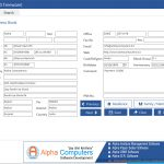 Addressbook Software || Alpha   Free Printable Address Book Software