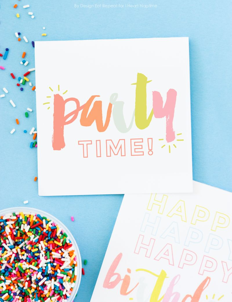 Adorable Free Printable Birthday Cards - I Heart Naptime   Birthdays - Free Printable Special Occasion Cards