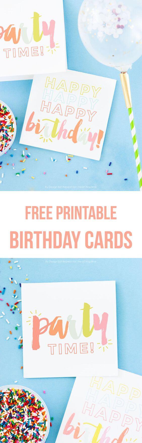 Adorable Free Printable Birthday Cards - I Heart Naptime - Free Printable Bday Cards