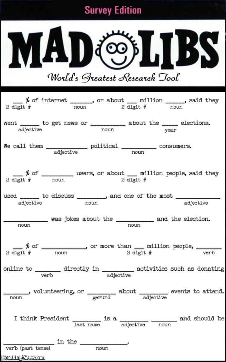 Adult Mad Libs Printable | Camp Activities | Pinterest | Mad Libs - Free Printable Mad Libs For Middle School Students