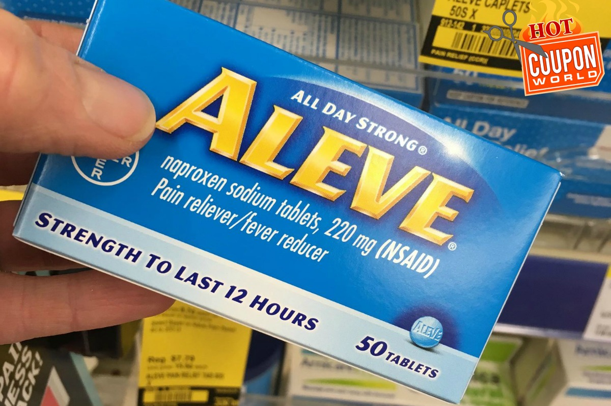 Aleve® Coupons (Free) - Aleve Cold And Sinus Coupons - Free Printable Giant Eagle Coupons