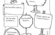 All About Me Preschool Template   6 Best Images Of All About Me - Free Printable All About Me Poster
