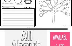 All About Me Worksheet: A Printable Book For Elementary Kids – Free Printable Kindergarten Level Books