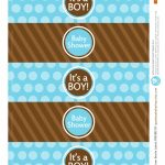 All Sizes | Free Printable | Water Bottle Labels Baby Boyapple   Free Printable Baby Shower Labels For Bottled Water