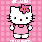 All Things Simple: Simple Celebrations: Hello Kitty Party + Printables   Hello Kitty Labels Printable Free
