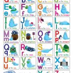Alphabet Chart With Pictures (Free Printable)   Doozy Moo   Free Printable Alphabet Letters Upper And Lower Case