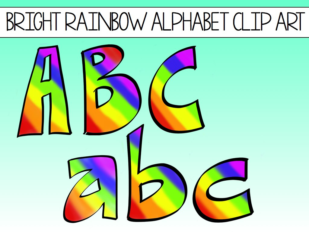 Alphabet Clip Art Free Download - Rr Collections - Printable Alphabet Letters Free Download
