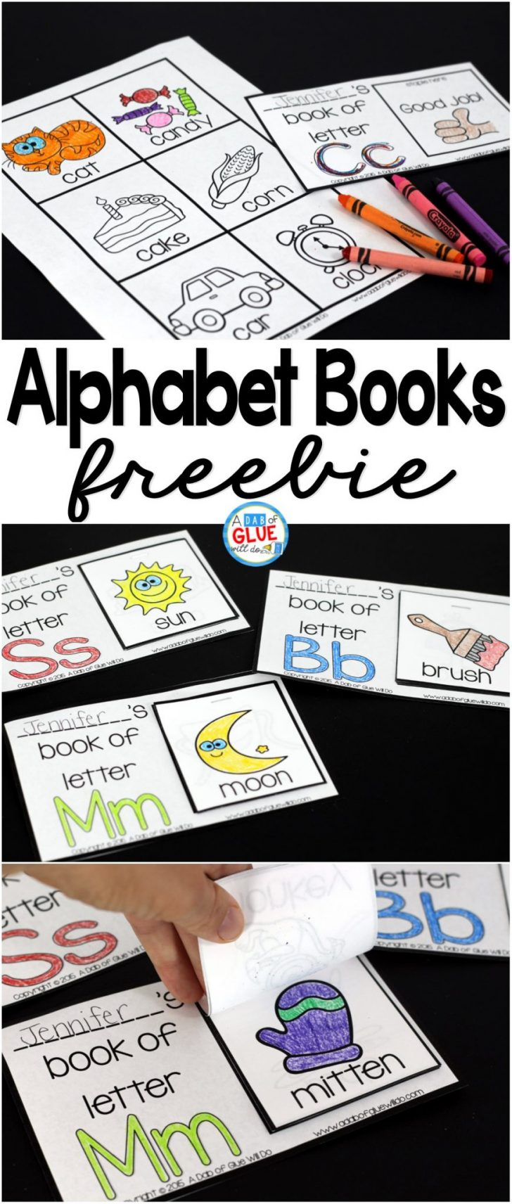Free Printable Abc Mini Books