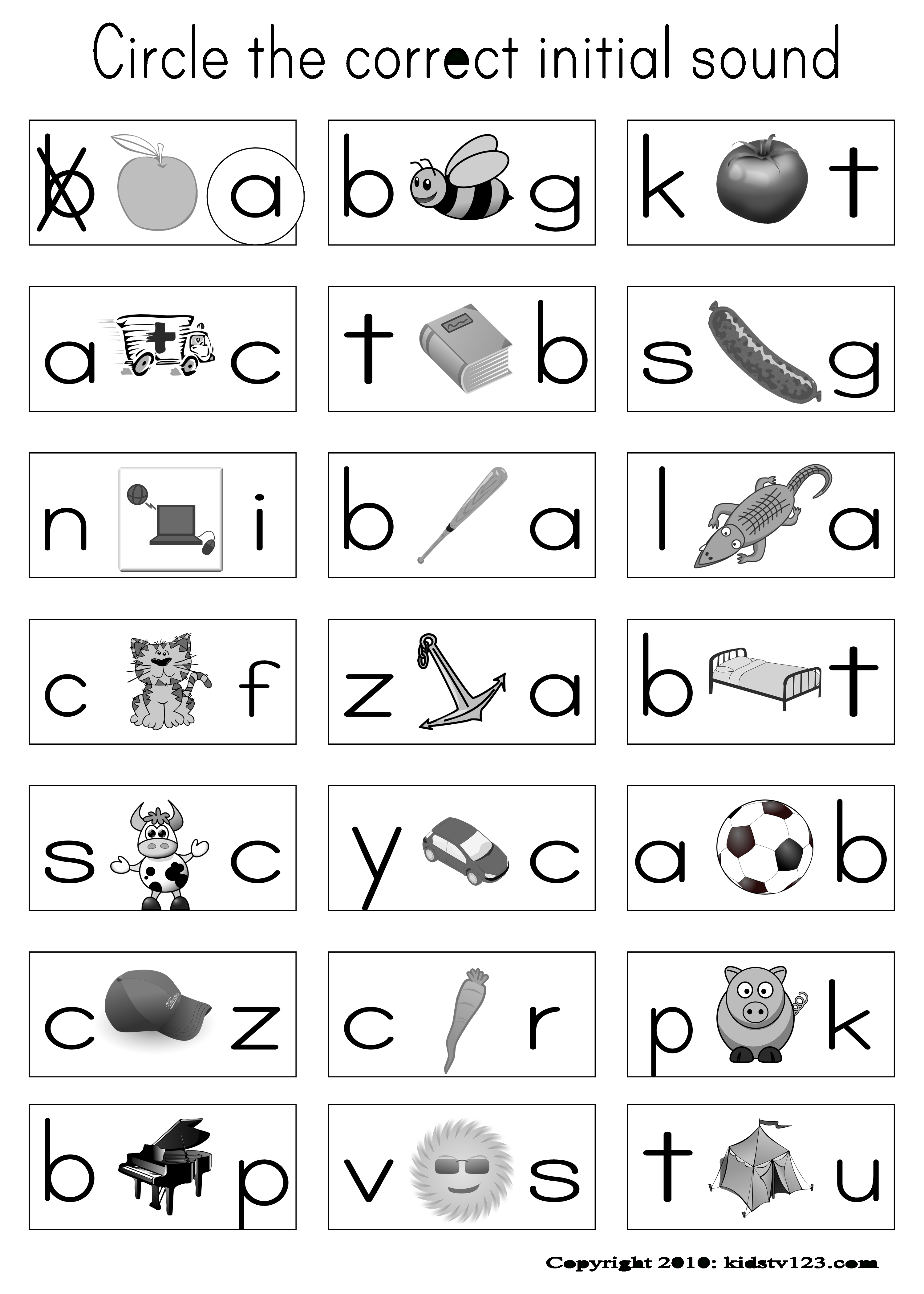 Alphabet & Phonics Worksheets Or Assessment Paper | Abc's - Free Printable Phonics Assessments