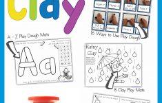 Alphabet Playdough Mats Free Printable