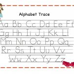 Alphabet Tracing | Kiddo Shelter   Free Printable Alphabet Letters Upper And Lower Case